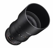 Rokinon Cine DS 135mm T2.2 ED UMC Telephoto Cine Lens for Canon EOS - DS135M-C