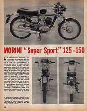 Z14 Ritaglio Clipping del 1969 Moto Morini Corsaro Super Sport 125-150
