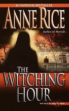 The Witching Hour-Anne Rice-Lives of Mayfair Witches #1-combined shipping