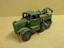 VINTAGE DINKY SUPERTOYS MADE IN ENGLAND N° 661 / ARMY RECOVERY TRACTOR