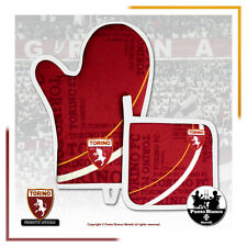 TORINO F.C. | Set barbeque, presina + guanto forno - Pot holder + oven glove