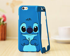 Cartoon Disney Lilo Stitch Front + back case cover For iPhone 6 4.7""