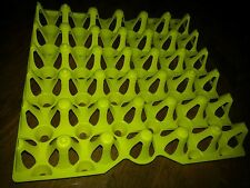 6 - CHICKEN EGG TRAYS for Incubator, Storage, Cleaning.  Holds 30 eggs.  WAS-30