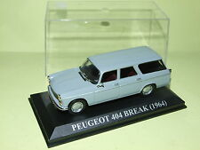 PEUGEOT 404 BREAK Gris 1964 ALTAYA 1:43
