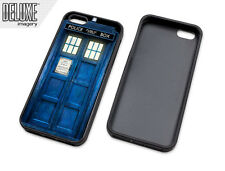 Doctor Who Tardis rubber sleeve case cover protector skin for Apple iPhone 5 5s