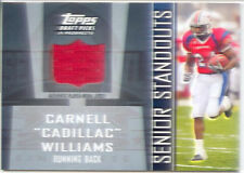 cadillac williams rc rookie draft jersey patch auburn war eagle college 2005