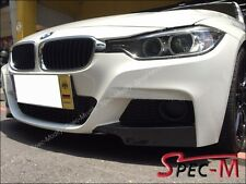 Performance Carbon Fiber Front Splitter Lip For BMW 2012+ 320i 328i 335i M Sport