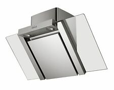 MILLAR KH901V-AS 90cm Stainless Steel Angled Kitchen Cooker Extractor Hood