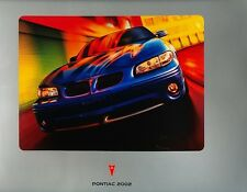 2002 Pontiac Grand Prix 28-page Original Car Sales Brochure Catalog - GT GTP