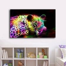 60×100×3cm Abstract Leopard Canvas Prints Framed Wall Art Decor Painting Gift
