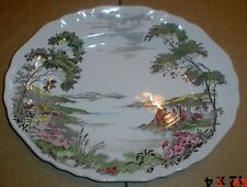 J And G Meakin Oval Platter Large Plate OLDE AVONDALE