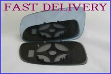 VW GOLF MK4 TDI 1997-2006 BLIND SPOT BLUE TINTED WING MIRROR GLASS LEFT SIDE