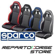 Sedile Sportivo Tuning SPARCO R100 - tessuto - nero - grigio - rosso - azzurro
