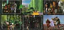 WIZARD OF OZ SERIES 2 MAGICAL PLACES 6 CARD UNCUT PANEL