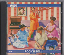 THE ROCK 'N' ROLL ERA 1959 CD ALBUM TIME LIFE MUSIC