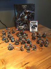 Warhammer 40k Large Grey Knight Army Well Painted