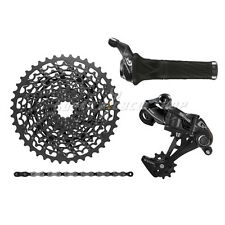 SRAM GX 1x11 Speed Groupset MTB Kit 4 piece , Grip Shift , Black