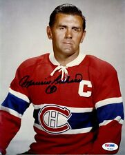 MAURICE RICHARD   ( MONTREAL CANADIENS )  -  SIGNED   5 x 7  PHOTO REPRINT