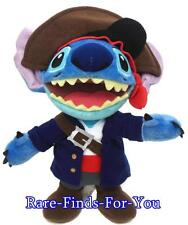 "Disney Theme Parks Pirate of the Caribbean ""Stitch"" Plush Doll Toy 9"" (NEW) Lilo"