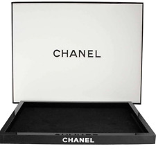 CHANEL BEAUTY VIP GIFT MAKE UP LARGE COSMETIC JEWELLERY PERFUME ORGANISER TRAY