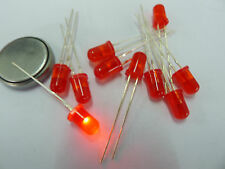 100PCS, RED 5MM Flash Flashing Defused LED LED'S,RRF5