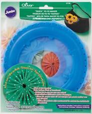 Clover Grandi Rotondo Yo-Yo Maker Artigianato Cucito Tessuti Attrezzi