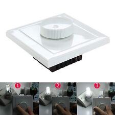 New AC 220V Rotary LED Switch Dimmer Controller for 5730/5050 LED Bulb Light