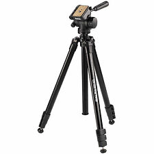 Hama Delta Pro 180 3D Tilt Head Tripod Digital Camera Tripod with QR Head & Bag