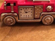 Relic By Fossil Fire Engine Clock
