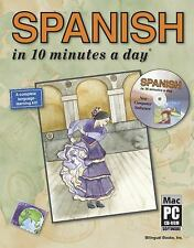 SPANISH in 10 minutes a day® with CD-ROM (10 Minutes a Day) Kristine K. Kershul