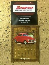 Snap-On 2002 Speciality Classic Car Mini Calendar  Dealer's Promotion