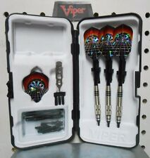 Viper Darts 18 gm Silver Thunder Dart Board Soft Tip Dart Set W/25 Extra Tips