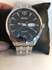 Seiko SNKN47 Recraft Automatic Stainless Steel Black Dial Men's Watch-H49