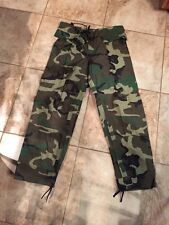 New Army Woodland Improved Rainsuit Trousers, Small #120