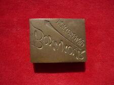 PLAQUE-NEGATIF D'IMPRIMERIE :  MONTBELIARD BONAMOUR