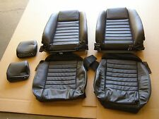 OEM Take-off 2005 2006 2007 2008 Ford Mustang Front Seat Covers Leather NOS GT