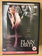 Dominque Swain Henry Thomas PLAIN DIRTY ~ 2001 Erotic Thriller | UK Rental DVD