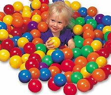 Intex Ball Toyz 100 X-LARGE Fun Ballz PVC Ball Pit Balls New Phalate Free GIFT