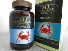 Body & Health Chitosan 250mg 90 Capsules