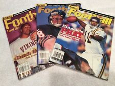 THREE (3) 2000 Beckett Price Guide Lot Football-Moss, Carter, Culpepper, McNown