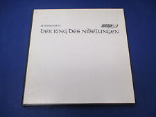 An Introduction To Wagners Ring Solti, RDN- S-1, 3 Record Set With Score