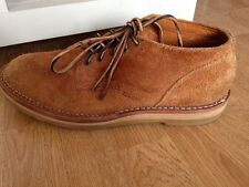 Viberg Designer Tan Suede Lace Up Boots Chukka Shoes uk 8.5/9
