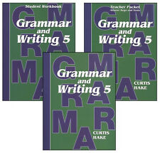Saxon Grammar and Writing (Hake's Grammar) Grade 5 Homeschool Kit NEW!