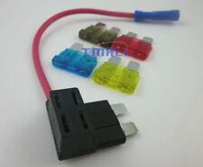 Medium ATM Fuse TAP Add on Dual Circuit Adapter Auto CAR Terminal+7A 10A 15A 20A