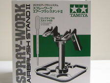 Tamiya 74539 SPRAY-WORK AIRBRUSH STAND II Convenient Tray f/ Airbrush from Japan
