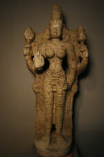 GRANITE FIGURE OF PARVATI SOUTH INDIA, TAMILNADU, VIJAYANAGAR PERIOD, 14TH/15TH