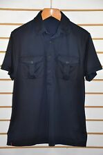 NWT M's Ralph Lauren Black Label, Denim-Washed Cotton Jersey Polo. Sz XL. $185.