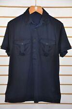 NWT M's Ralph Lauren Black Label, Denim-Washed Cotton Jersey Polo. Sz L. $185