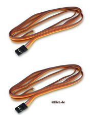 carrocket 2x Servo connection cables • JR • Connector • 11.8in YUKI MODEL Cable