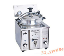 16L Commercial Electric Pressure Fryer 50-300°C 110V/220V